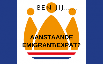 Ben jij aanstaande emigrant/expat?